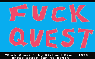 Fuck Quest atari screenshot